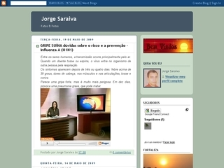 Thumbnail do site Blog de Jorge Saraiva