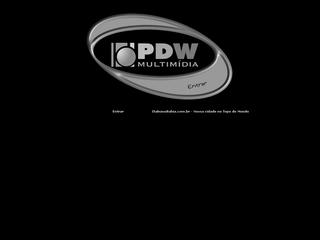 Thumbnail do site PDW - Multimidia - Designer Grafico