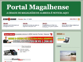 Thumbnail do site Maranhão News