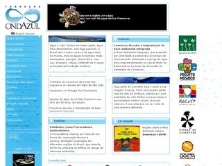 Thumbnail do site Fundação Ondazul