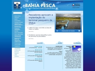 Thumbnail do site Bahia Pesca