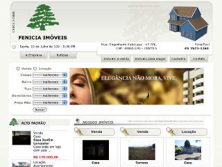Thumbnail do site Fenícia Imóveis