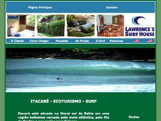 Thumbnail do site Itacaré é puro Surf
