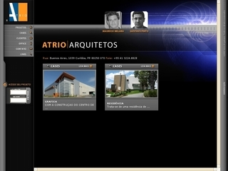 Thumbnail do site Atrio Arquitetos