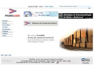 Thumbnail do site Centro Internacional de Negócios da Bahia
