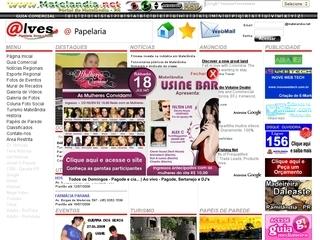 Thumbnail do site Portal Matelandia.net