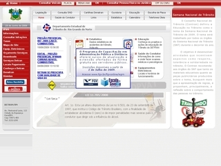 Thumbnail do site DETRAN - Rio Grande do Norte