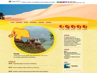 Thumbnail do site Portal de Turismo do Rio Grande do Norte