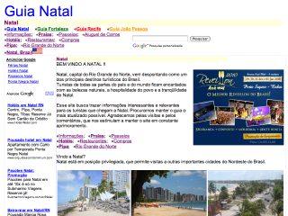 Thumbnail do site Natal - Rio Grande do Norte - Férias, turismo, passeio