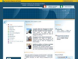 Thumbnail do site CODERN - Companhia Docas do Rio Grande do Norte