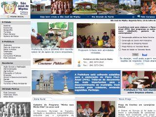 Thumbnail do site Prefeitura Municipal de São José de Mipibu