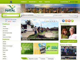 Thumbnail do site Prefeitura Municipal de Natal