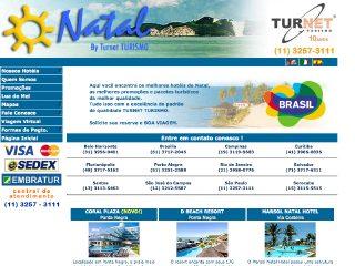 Thumbnail do site Natal - by Turnet Turismo