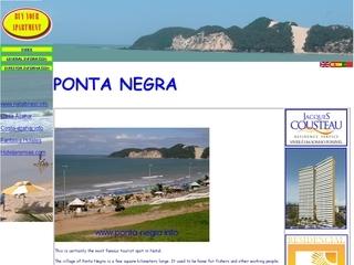 Thumbnail do site Ponta Negra, a melhor praia de Natal