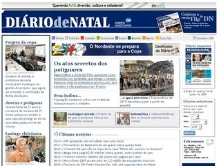 Thumbnail do site Diário de Natal Online