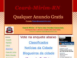 Thumbnail do site CearáMirim.com