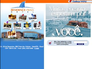 Thumbnail do site Residence Praia Hotel
