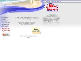 Thumbnail do site Mano Mano Rent a Car