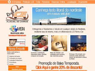Thumbnail do site LCE Rent a Car
