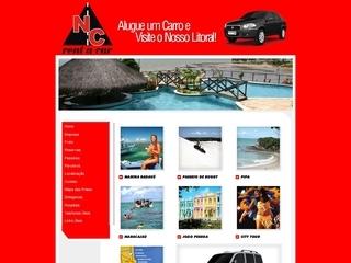 Thumbnail do site NC Rent a Car