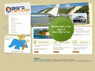 Thumbnail do site Rhodes Rent a Car