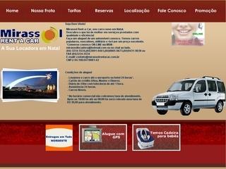 Thumbnail do site Mirassol Rent a Car