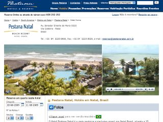 Thumbnail do site Pestana Natal - Beach Resort *****