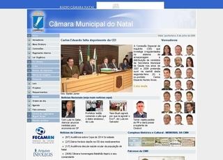 Thumbnail do site Câmara Municipal de Natal