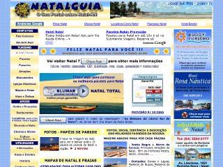 Thumbnail do site NatalGuia -> Tudo sobre a cidade do Natal/RN