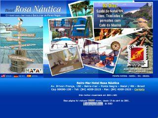 Thumbnail do site Hotel Rosa Náutica