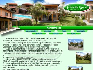 Thumbnail do site Felicidade Resort