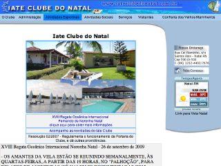 Thumbnail do site Iate Clube do Natal