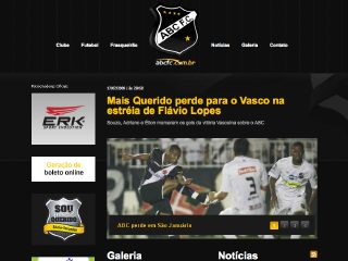 Thumbnail do site ABC Futebol Clube