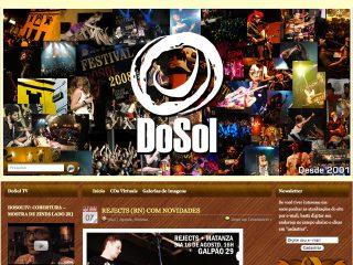 Thumbnail do site Festival DoSol