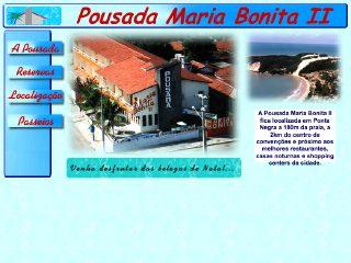 Thumbnail do site Pousada Maria Bonita II