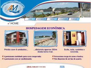 Thumbnail do site Pousada Apart-mobiliado