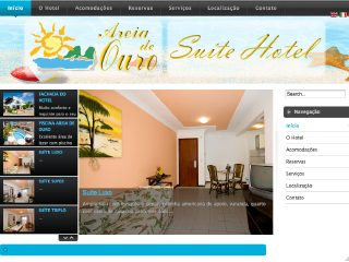 Thumbnail do site Hotel Areia de Ouro