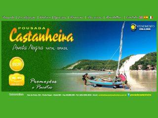 Thumbnail do site Pousada Castanheira