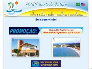 Thumbnail do site Hotel Recanto da Costeira
