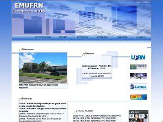 Thumbnail do site Escola de Música - UFRN