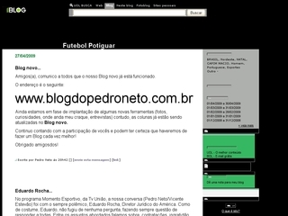 Thumbnail do site Futebol Potiguar (Blog)