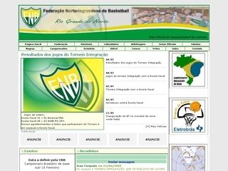Thumbnail do site Federação Norteriograndense de Basquete