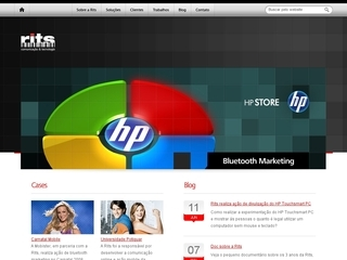 Thumbnail do site Rits Comunicação & Tecnologia
