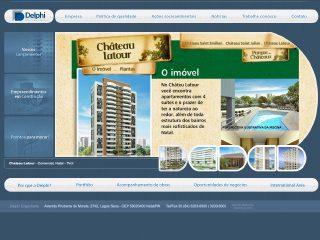 Thumbnail do site Delphi Engenharia - Imóveis em Natal