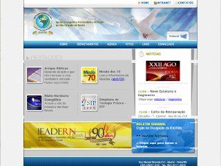 Thumbnail do site Igreja Evangélica Assembléia de Deus