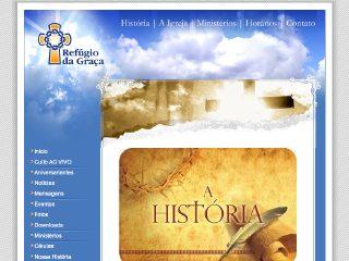 Thumbnail do site Igreja Refúgio da Graça
