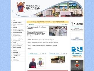 Thumbnail do site Arquidiocese de Natal
