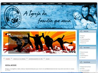 Thumbnail do site Igreja do Nazareno