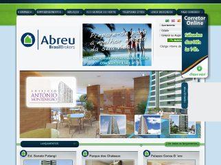 Thumbnail do site Abreu Imóveis