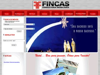 Thumbnail do site Fincas Consultoria Imobiliária